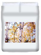 Dancing Birches Duvet Cover