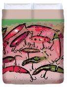 Dancing Colors Duvet Cover