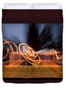 Dancing Fire Duvet Cover
