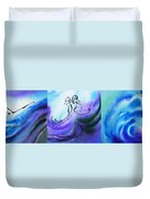 Dancing Water Vi Duvet Cover