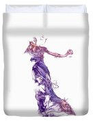 Dancing With A Stranger Duvet Cover