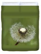Dandelion Half Gone Duvet Cover