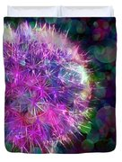 Dandelion Party Duvet Cover by Judi Bagwell