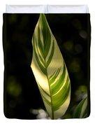 Dappled Ginger Leaf Duvet Cover