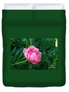 Dark Pink Peony Flower Series 2 Duvet Cover