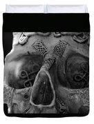Dark Thoughts Celtic Skull Duvet Cover