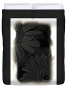 Darkness To Live Duvet Cover
