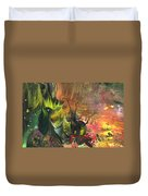 Date In The Wood Duvet Cover