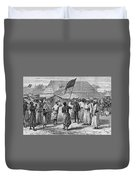 David Livingstone, Scottish Missionary Duvet Cover by Photo Researchers
