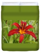 Day Lilly In Diffused Daylight Duvet Cover