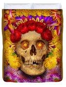 Day Of The Dead - Dia De Los Muertos Duvet Cover