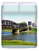 Dayton Ohio Duvet Cover