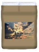 Dazzling Sunset Duvet Cover