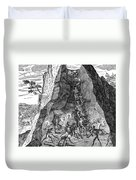 De Bry: Potosi, 1590 Duvet Cover