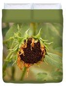 Dead Sunflower Duvet Cover