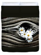 Dead Wood And Asters Duvet Cover