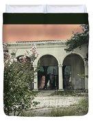 Death Of A Prom Queen Bellemont Baton Rouge Duvet Cover