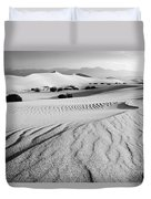 Death Valley Dunes 11 Duvet Cover by Bob Christopher