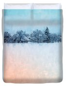 December Snow Duvet Cover