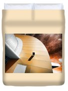 Deckchair In Space Duvet Cover