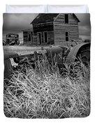 Decline Of The Small Farm No.2 Duvet Cover