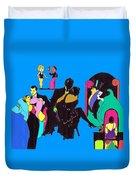 Deco Ads Color Duvet Cover
