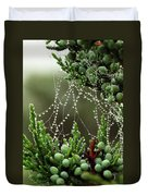 Decorated Bush Quogue Wildlife Preserve Duvet Cover