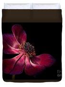Deep Pink Anemone - 2 Duvet Cover