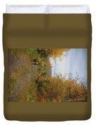 Deer In Fall Duvet Cover