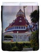 Del Coronado Hotel San Diego  Duvet Cover