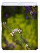 Delicate Flowers Duvet Cover