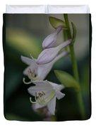 Delicate Lillies Duvet Cover