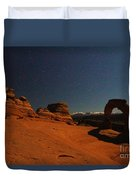Delicate Moonlight Duvet Cover