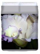 Delicate Purple Orchid Duvet Cover