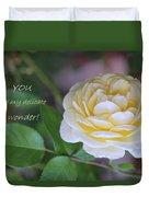 Delicate Wonder Duvet Cover