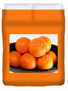 Delicious Cara Cara Oranges Duvet Cover