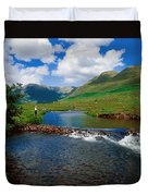 Delphi Fishery, Co Mayo, Ireland Duvet Cover