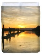 Delta Sunset Duvet Cover