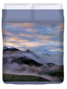 Denali Dawn Duvet Cover