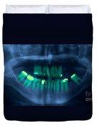 Dental X-ray Duvet Cover