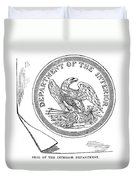 Department Of The Interior Duvet Cover