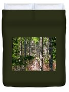 Depth Of Trees Duvet Cover