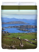 Derrynane Harbour, Caherdaniel, Ring Of Duvet Cover