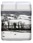 Derwent Valley, Derbyshire, England Duvet Cover
