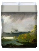 Derwent Water With Skiddaw In The Distance Duvet Cover