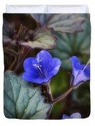 Desert Bluebells  Duvet Cover