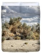 Desert Cloud Palm Springs Duvet Cover