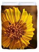 Desert Dandelion Duvet Cover