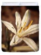 Desert Easter Lily Duvet Cover
