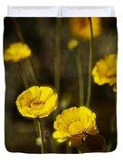 Desert Marigold Duvet Cover
